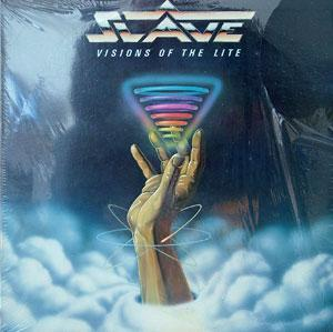 Album  Cover Slave - Visions Of The Lite on COTILLION Records from 1982