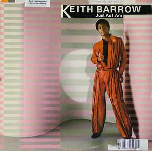Album  Cover Keith Barrow - Just As I Am on CAPITOL Records from 1980