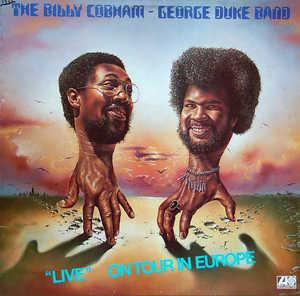Front Cover Album George Duke - Live: On Tour In Europe