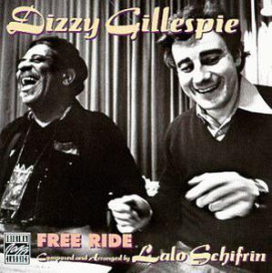 Front Cover Album Dizzy Gillespie - Free Ride