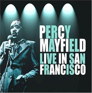 Album  Cover Percy Mayfield - Live on WINNER Records from 1992