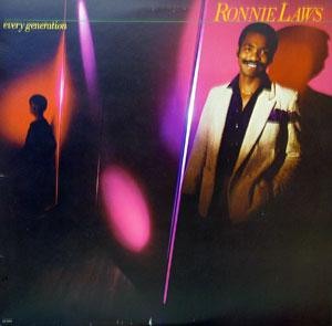Album  Cover Ronnie Laws - Every Generation on UNITED ARTIST Records from 1980