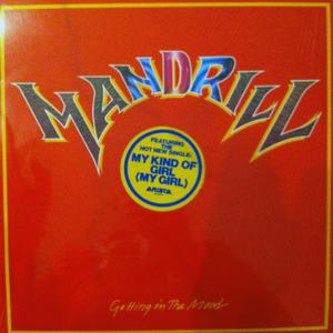 Front Cover Album Mandrill - Getting In The Mood