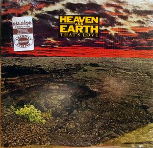 Album  Cover Heaven & Earth - That's Love on WMOT Records from 1981