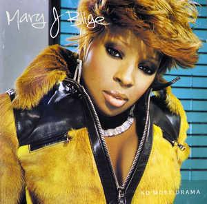 Album  Cover Mary J. Blige - No More Drama on MCA Records from 2001