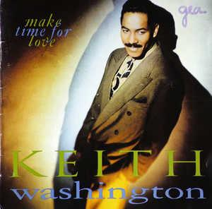 Front Cover Album Keith Washington - Make Time For Love