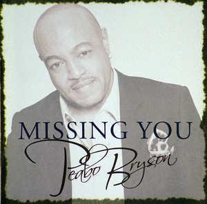 Front Cover Album Peabo Bryson - Missing You