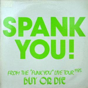 Front Cover Album Spank - Spank You