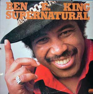 Front Cover Album Ben E. King - Supernatural