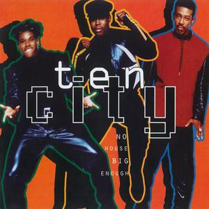 Album  Cover Ten City - No House Big Enough on EASTWEST Records from 1992