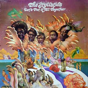 Album  Cover The Stylistics - Let's Put It All Together on AVCO Records from 1974