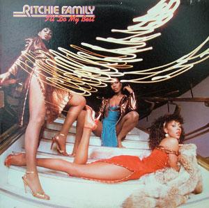 Album  Cover The Ritchie Family - I'll Do My Best on RCA Records from 1982