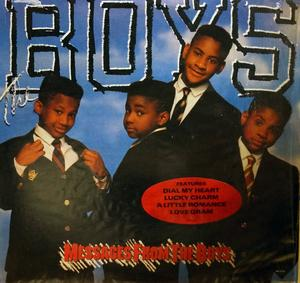 Album  Cover The Boys - Messages From The Boys on MOTOWN Records from 1988