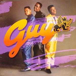 Album  Cover Guy - Guy on MCA Records from 1988