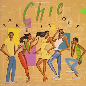 Album  Cover Chic - Take It Off on ATLANTIC Records from 1981