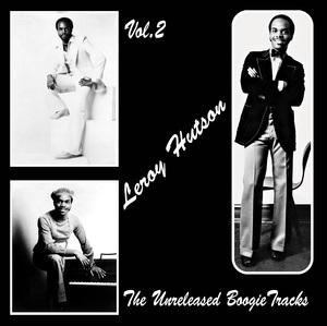 Front Cover Album Leroy Hutson - The Unreleased Boogie Tracks Vol2