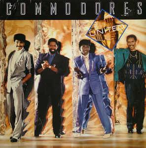 Album  Cover Commodores - United on POLYDOR Records from 1986