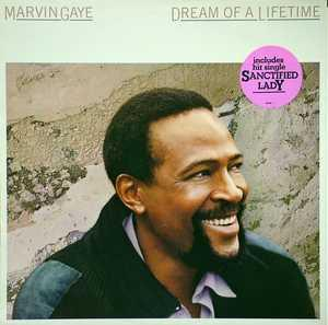 Album  Cover Marvin Gaye - Dream Of A Lifetime on COLUMBIA Records from 1985