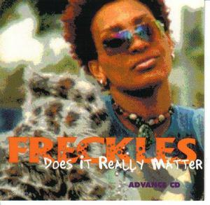 Front Cover Album Freckels - Does It Really Matter