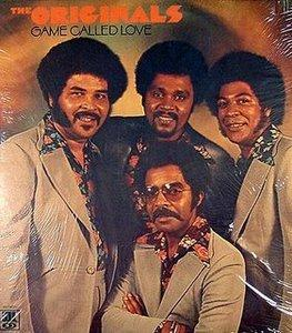 Album  Cover The Originals - Game Called Love on SOUL Records from 1974