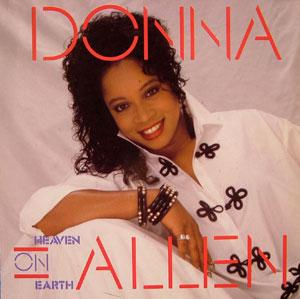 Album  Cover Donna Allen - Heaven On Earth on OCEANA Records from 1988