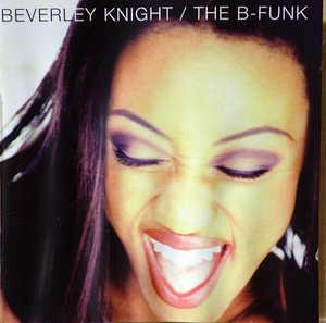 Album  Cover Beverley Knight - The B-funk on DOME Records from 1995