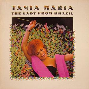 Album  Cover Tania Maria - The Lady From Brazil on MANHATTAN Records from 1986