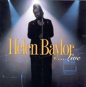 Album  Cover Helen Baylor - Live on VERITY Records from 1999