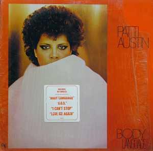 Album  Cover Patti Austin - Body Language on CTI Records from 1980