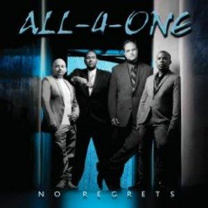 Album  Cover All 4 One - No Regrets on PEAK Records from 2009