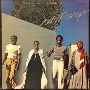Album  Cover The Mccrarys - Loving Is Living on PORTRAIT Records from 1978