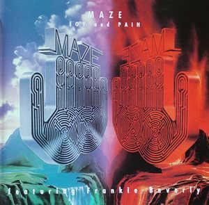 Album  Cover Maze - Joy And Pain on CAPITOL Records from 1980