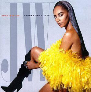 Album  Cover Jody Watley - Larger Than Life on MCA Records from 1989