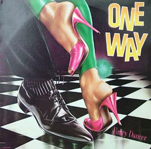 Album  Cover One Way - Fancy Dancer on MCA Records from 1981