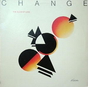 Album  Cover Change - Glow Of Love on RFC Records from 1980