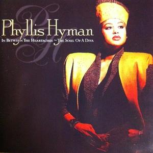 Front Cover Album Phyllis Hyman - In Between The Heartaches - The Soul Of A Diva
