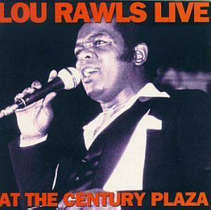 Album  Cover Lou Rawls - Live At The Century Plaza on REBOUND Records from 1973