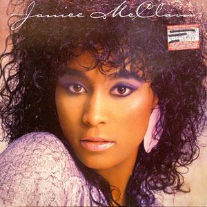 Album  Cover Janice Mcclain - Janice Mcclain on MCA Records from 1986