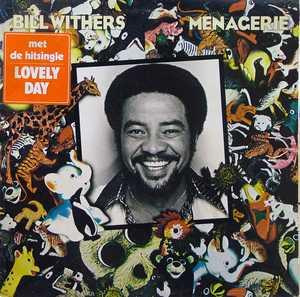 Front Cover Album Bill Withers - Menagerie