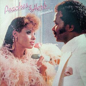 Album  Cover Peaches & Herb - Remember on COLUMBIA Records from 1983
