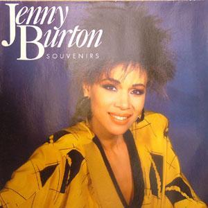 Album  Cover Jenny Burton - Souvenirs on ATLANTIC Records from 1986