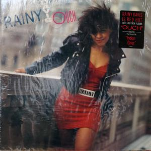 Album  Cover Rainy Davis - Ouch on COLUMBIA Records from 1988