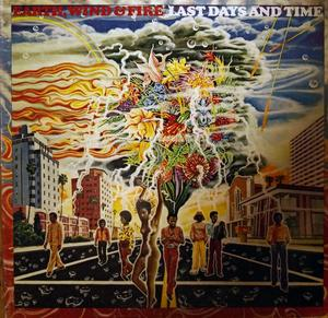 Front Cover Album Wind & Fire Earth - Last Days And Time