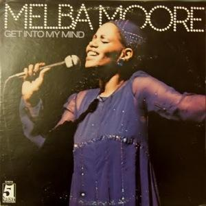 Front Cover Album Melba Moore - Get Into My Mind