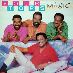 Album  Cover The Four Tops - Magic on MOTOWN Records from 1985
