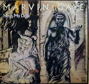 Front Cover Album Marvin Gaye - Here My Dear