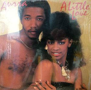 Album  Cover Aurra - A Little Love on SALSOUL Records from 1982