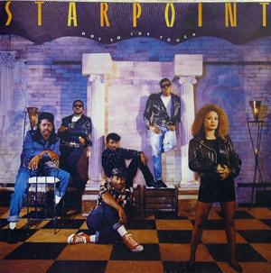 Album  Cover Starpoint - Hot To The Touch on ELEKTRA Records from 1988