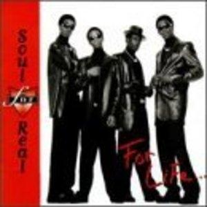 Album  Cover Soul For Real - For Life on UPTOWN / UNIVERSAL Records from 1996
