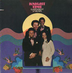 Front Cover Album Gladys Knight & The Pips - Knight Time